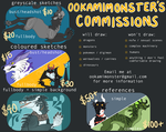 COMMISSIONS [open] by OokamiMonster