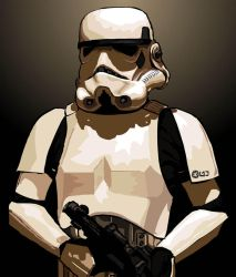 Imperial Stormtrooper II by Content-Josho