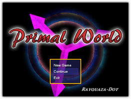 Primal World Title Screen by Rayquaza-dot