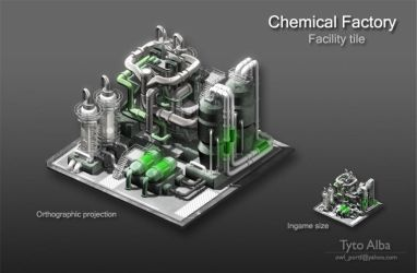 Chemical Factory by TytoAAlba