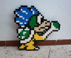LEGO: Larry Koopa by Meufer