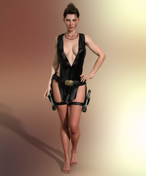 Tomb Raider Legend Tokyo dress by ArtiMuller