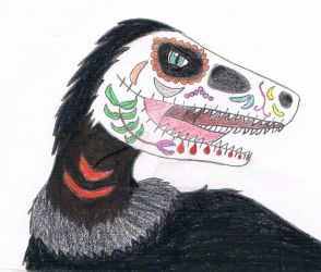 Dowie the Sugar Skull by Guadisaves02