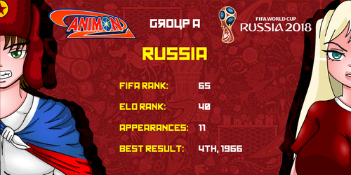 Russia - Animondos World Cup Russia 2018 by Dougieus