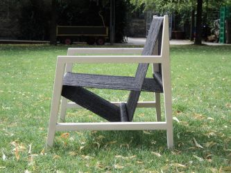 Loom Chair, profile by Trollesque
