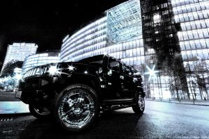 HUMMER - Night in Berlin by IHEA