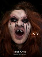 The Ring - Makeup Eyes by KatieAlves on DeviantArt