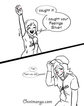 .:Soulsilvershipping baseball AU:. pg7 by Sonicsis