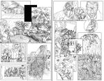 Commish: ZOMBIE DEMOCRACY pages by VAXION