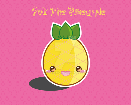 Poli The Pineapple by Pochina