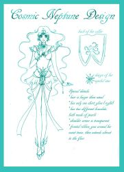 Cosmic Neptune Design Sketch by silver-eyes-blue