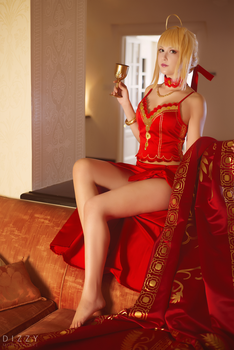 Fate/Extra - Nero colosseum by KiaraBerry