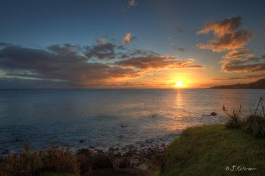 Azores sun explosion by Sockrattes