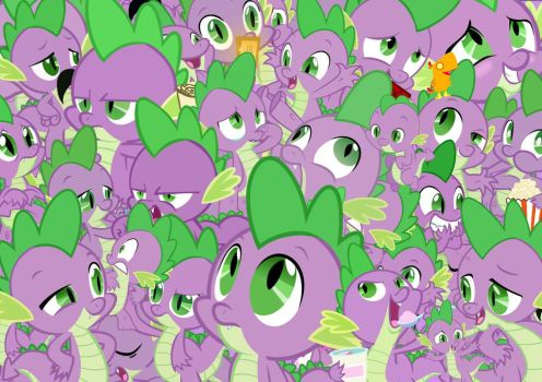 Spikey Wikey! XD by PegasisterInAction