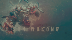 SMITE - Sun Wukong, Monkey King by Shlickcunny
