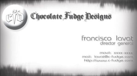 New CFD Business Card by jflc9