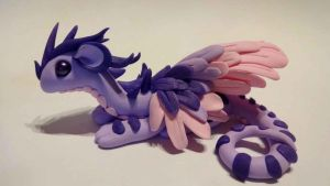 Dragon violet by krisclay74