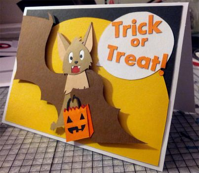Trick or Treat! Halloween Card by Hatpire