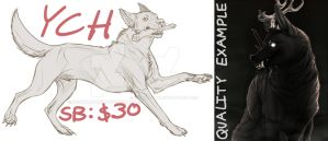 [CLOSED] Canine YCH by sphynxpunk