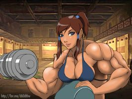 Korra Keeps Fit 4 Her Eventual Return 2 Television by KeirTanaka