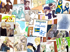 APH: Sweden x Finland -SuFin- by Tian-samaaaa