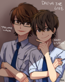 misawa feat the stage actors by Sandy-kun