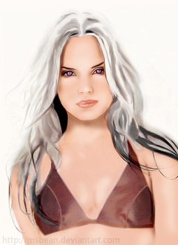 Daenerys, Mother of Dragons by MsBean