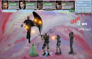 RE+FF  One Winged Wesker by redfield37