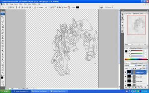 Optimus Prime In Progress by anggaa