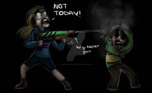 When you're a Supernatural fan - Day 43 by InstantDoodles13