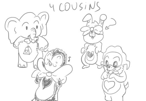 4 Cousins by FakeSword