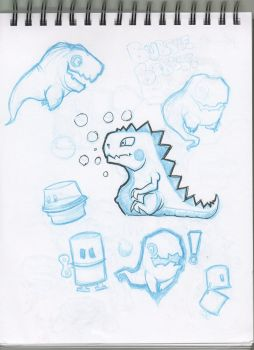 Bubble Bobble Sketch by Paterack