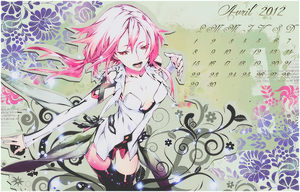 Calendrier Avril Inori by XxAjisai-GraphicxX