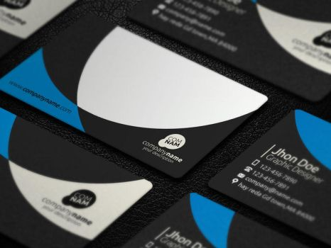 Creative Business Card - 3 - Template [PSD] by Ja-Ghraphics