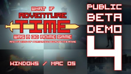 Adventure Time Fan Game (Public Beta 4 Demo) by Mikeinel