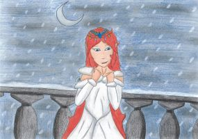 A Winter Night - Secret Santa for Sweet-Sharotto by MyrielLachance