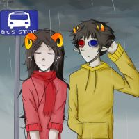 Waiting for the Bus by soulhates