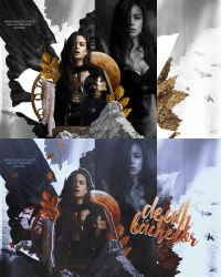 Blend Collaboration 01 | Courtney Eaton by lottesgraphics
