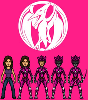 Pink Ranger (MMPR) by KingCozy7