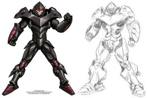 Power Armor for Serious Sports by Mecha-Zone