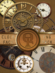 Clock Face PNG pack. by Spiral-0ut
