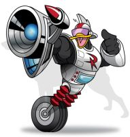 Gizmoduck! by GIG-Arts