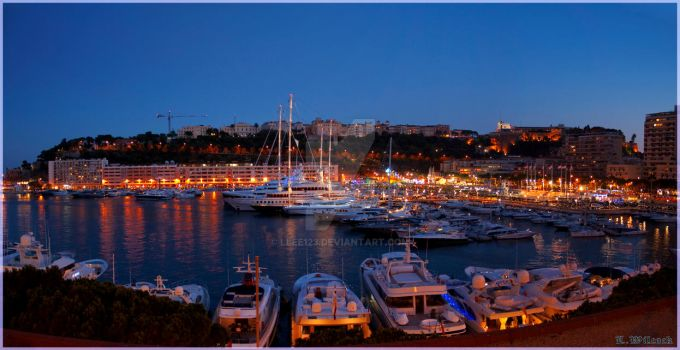 Monaco By Night by llee123