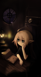 Night reading by Miamelly