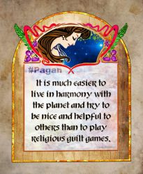 #Pagan - Words to live buy by Clisair