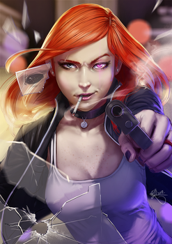 Commission - Kasumi by SourAcid