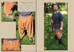 VIKING TROUSERS MEDIUM BROWN by Alise-Art