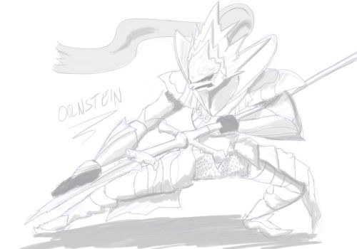 Orsntein sketch by FakeSword