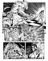 last comic page by pant