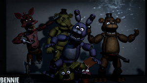 FNaF 1 pack [SFM] by GameBennie